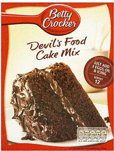 Betty Crocker Devil S Food Bundt Cake