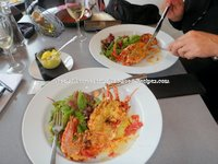 Best Lobster Thermidor ever Galloway Forest Park